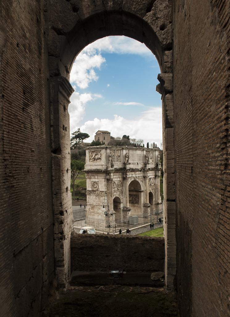 Arco de Costantino, Roma