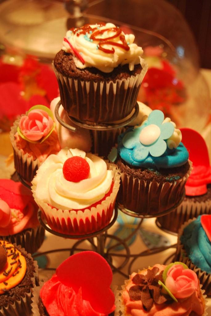 CupCakes en la Happy Day Bakery.