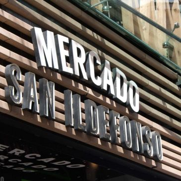 Verano en Madrid: Mercado de San Ildefonso