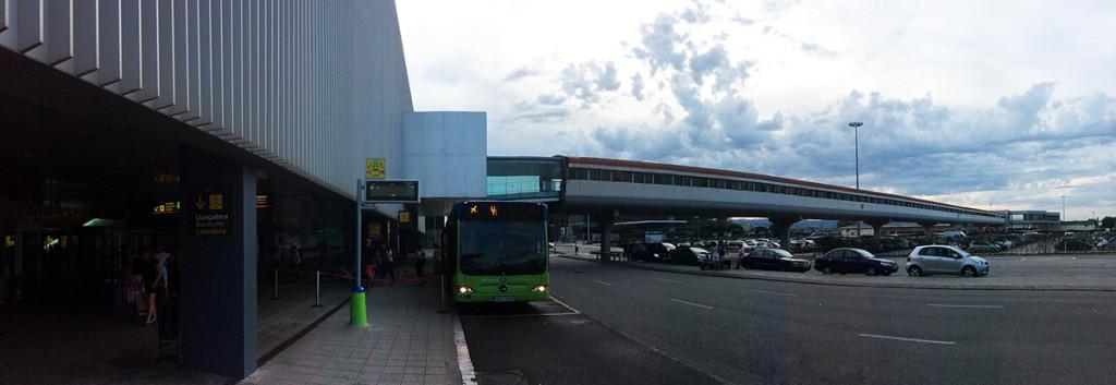Llegar del aeropuerto de Barcelona al centro