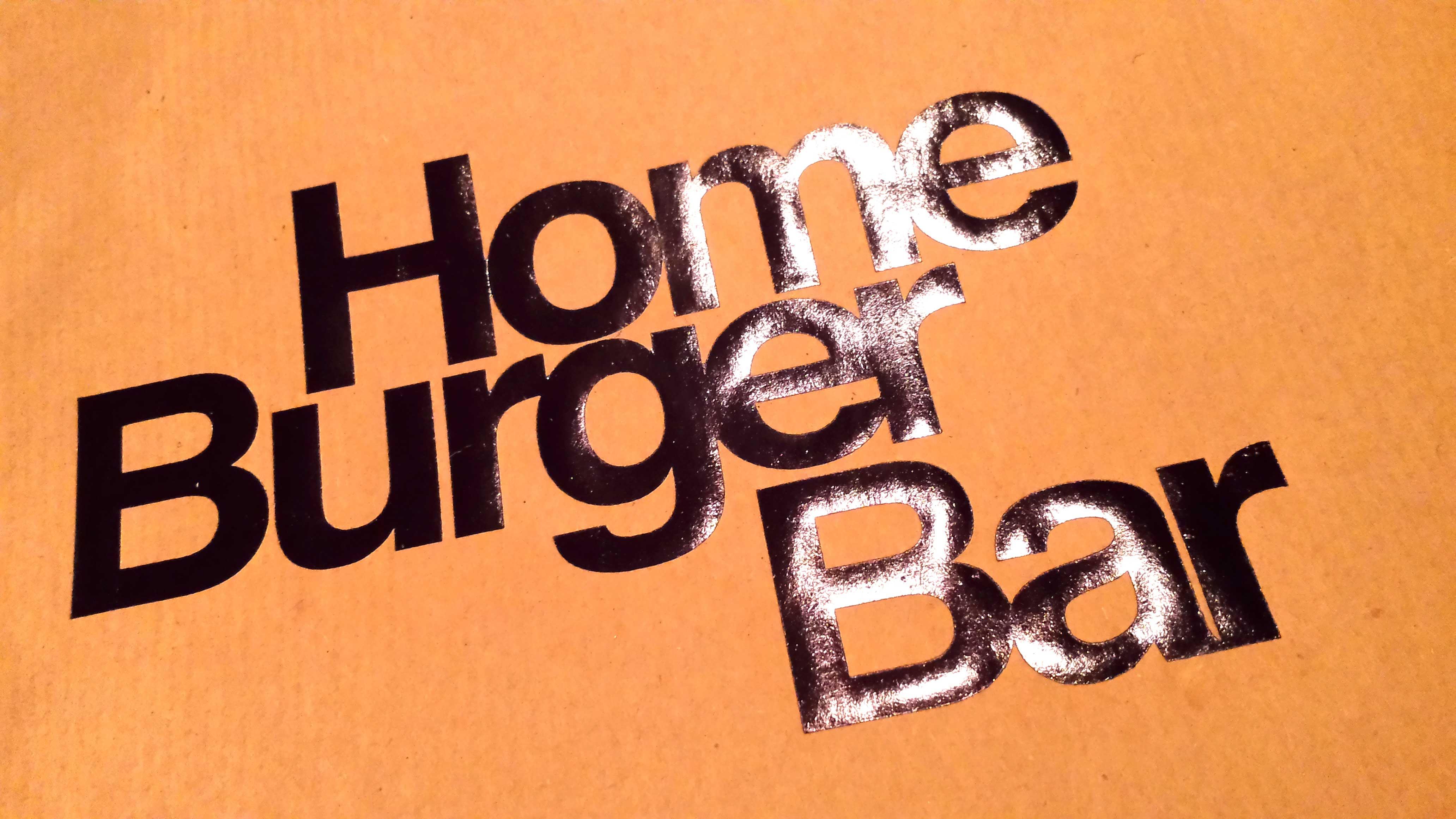 Home Burger Bar, o como obsesionarte con una hamburguesa.