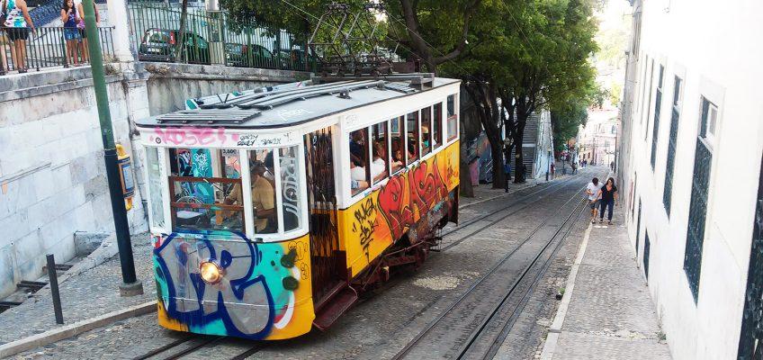 Tranvías y funiculares de Lisboa.