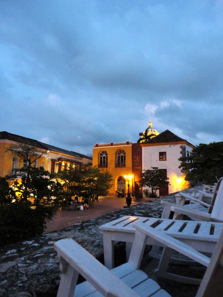 Atardecer en Cartagena de Indias.