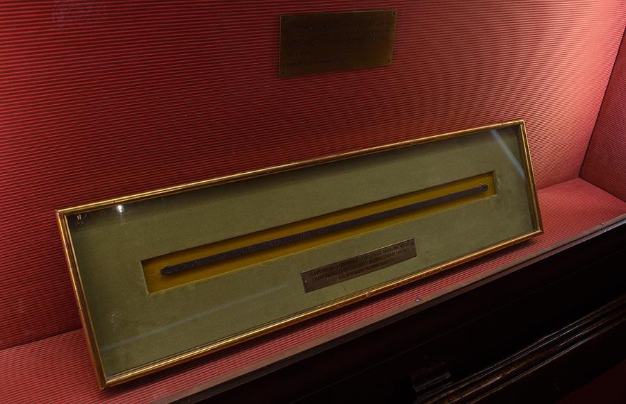 Unidad de métrica de calidad de la seda en la Casa de la Seda de Barcelona