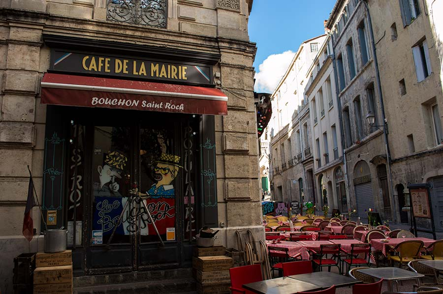 Comer en Montpellier
