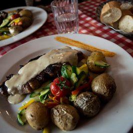 Comer entrecot en Montpellier