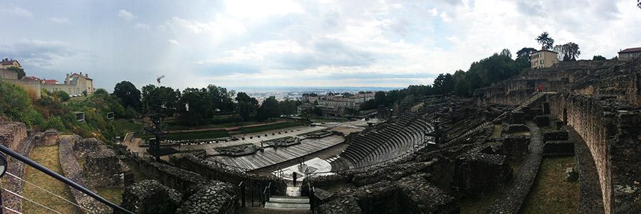 Ruinas romanas en Lyon