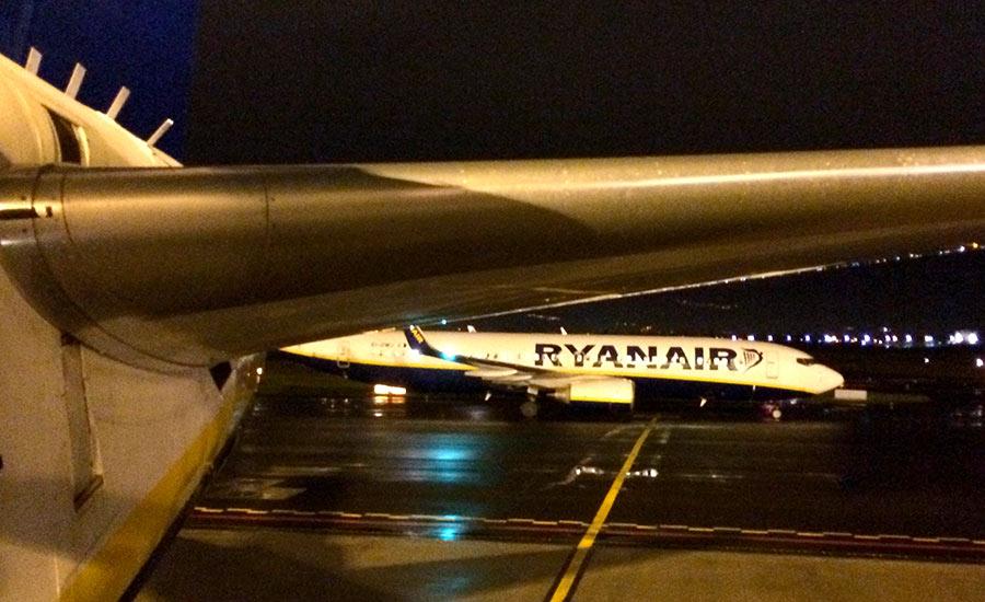 desvío de Ryanair