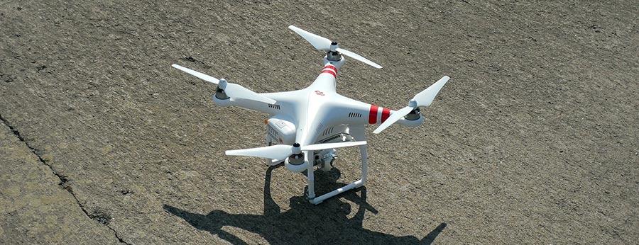 dron desvío aeropuerto
