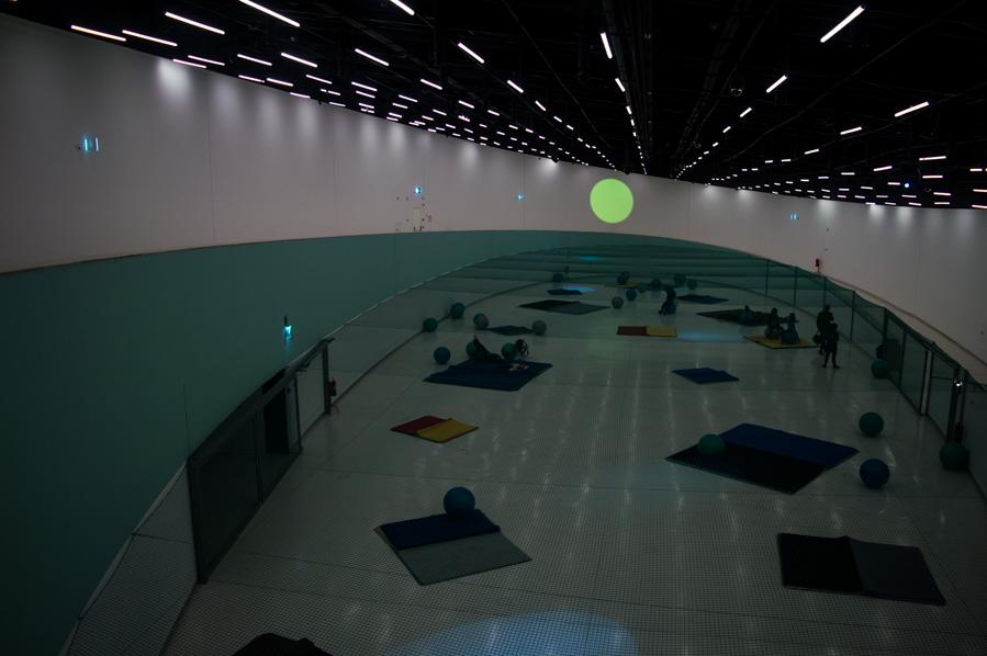 Sala central del MAAT