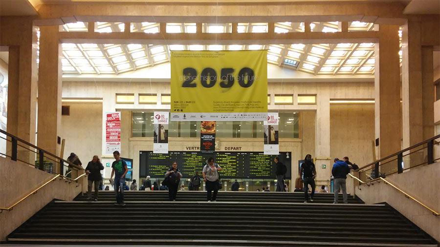 Hall de la estación de Bruselas Centraal