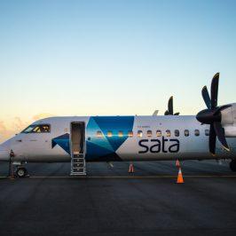 SATA es la aerolínea regional de las Azores, de ella depende el servicio de conexiones gratuitas