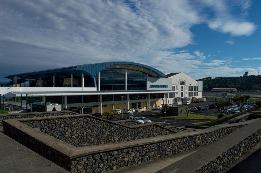 El aeropuerto de Lajes en Terceira es también una base militar.