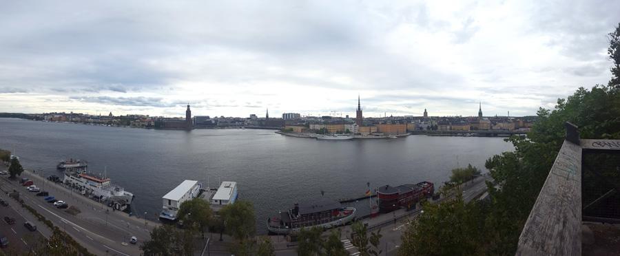 Por fin, Estocolmo.