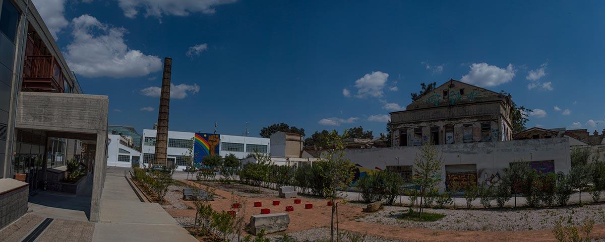 Ruina y porvenir en la facultad de Bellas Artes de Atenas