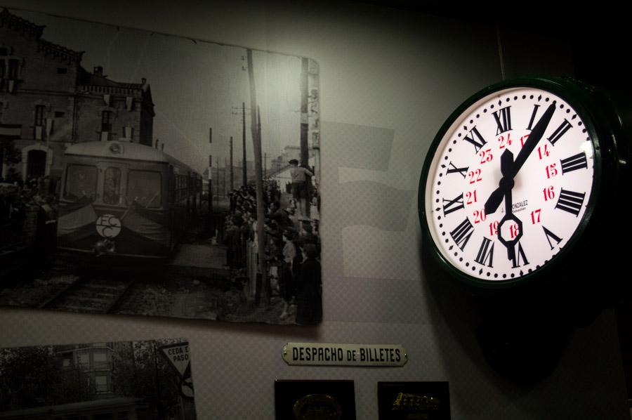 Material histórico en Home Rail BCN