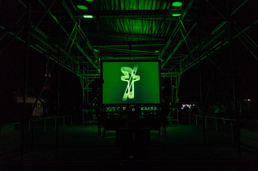 Man Machine en el Signal Festival en Praga