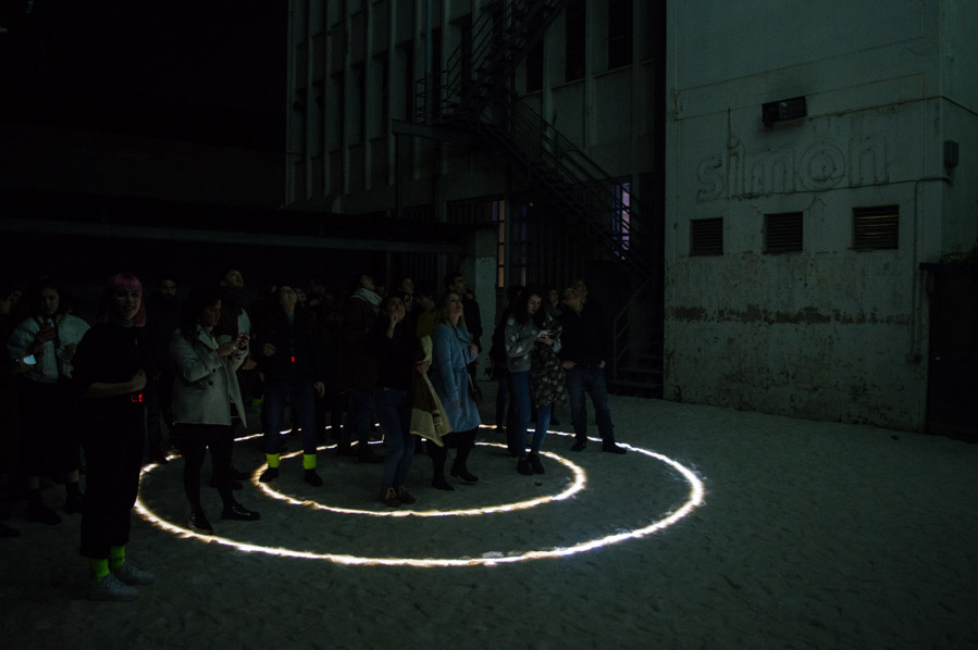 People Are Light, instalación de IED Barcelona