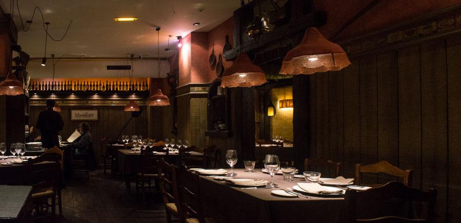 Interior del Restaurante Ciudadela de Gijón
