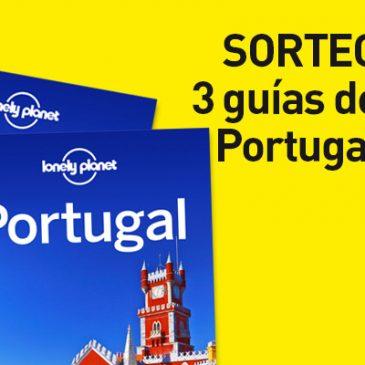 ¡CONCURSO! 3 guías LonelyPlanet de Portugal en juego