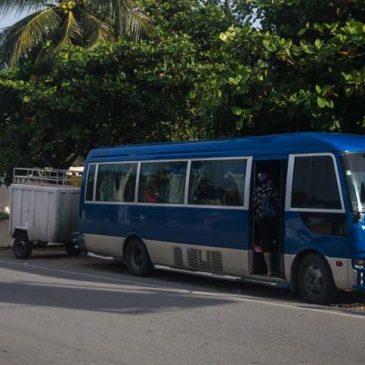 Moverse en transporte público en República Dominicana