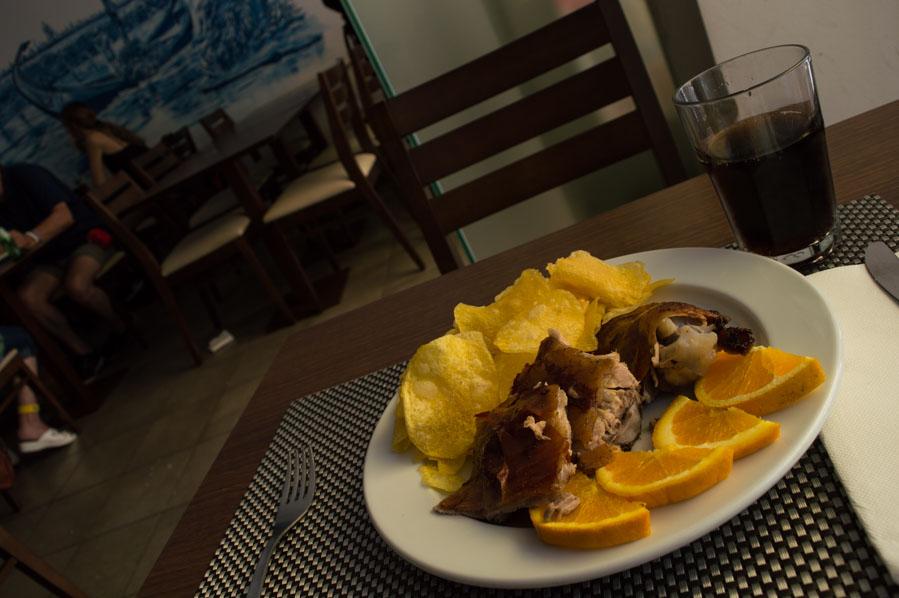 Comer Leitāo en Aveiro