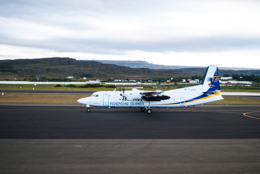 Air Iceland en Egilsstadir