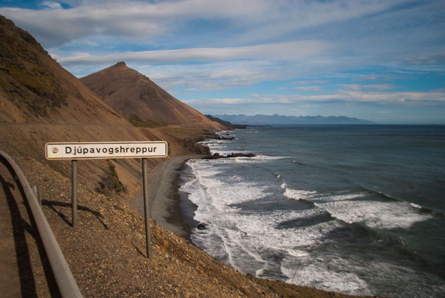 Djúpavogshreppur en el Este de Islandia