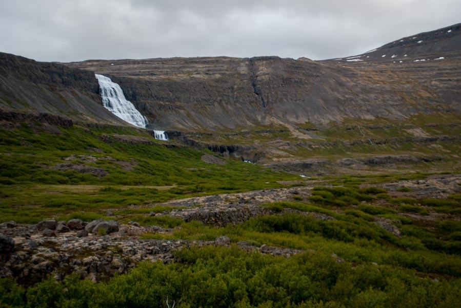 Cascada Dynjandi Fiordos Oeste de Islandia