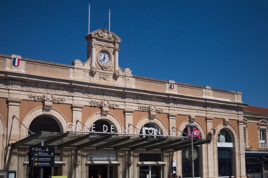 Estación de tren de Narbona