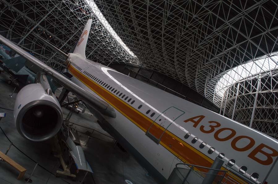 El A300 en Aeroscopia, toulouse