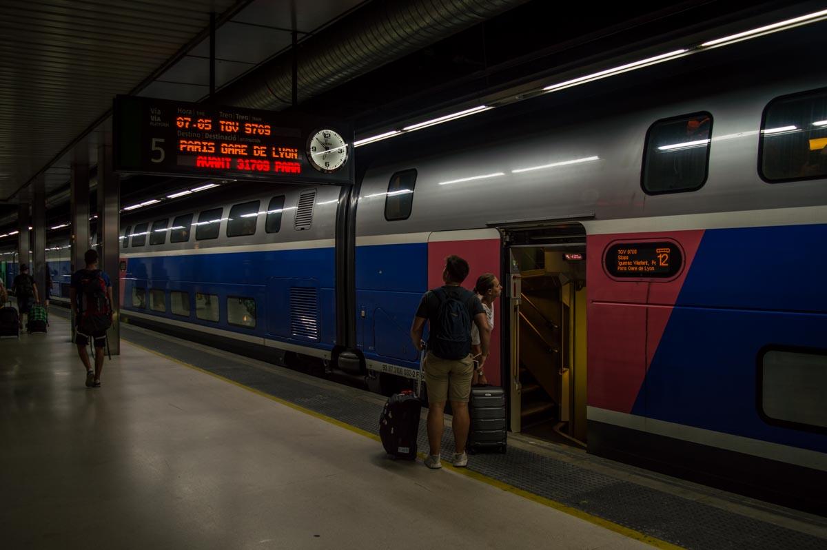 Los trenes de Renfe-SNCF te llevan en pocas horas de Barcelona a Béziers