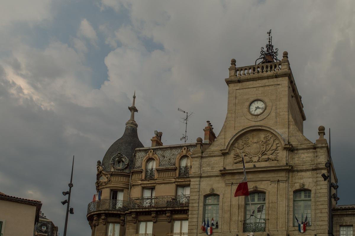 La plaza del Ayuntamiento de Béziers