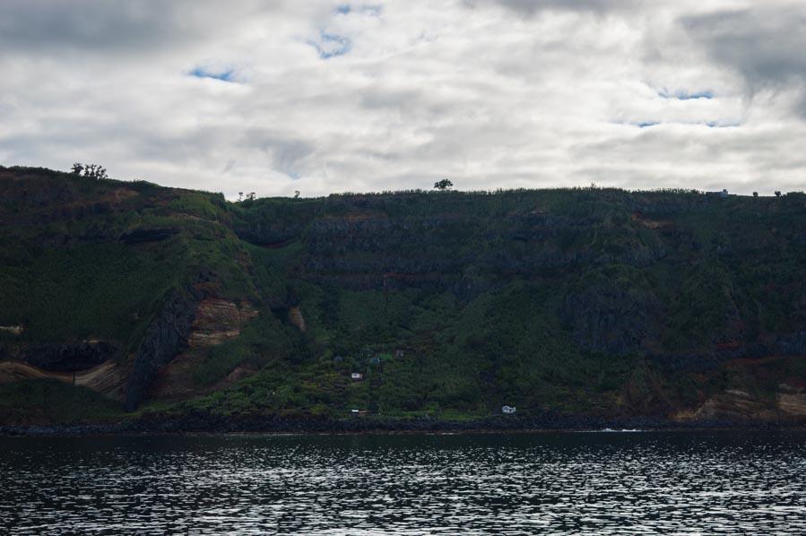 Ferry a San Miguel, islas Azores
