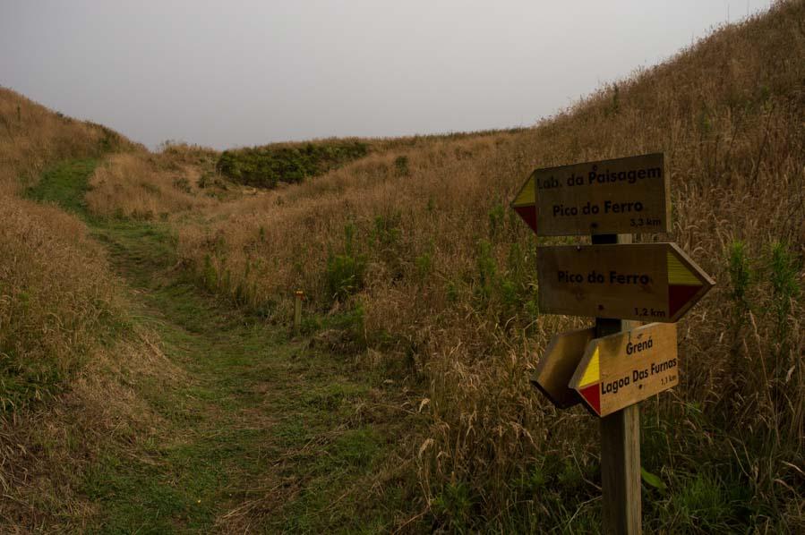 Trecking y senderismo en San Miguel, Islas Azores