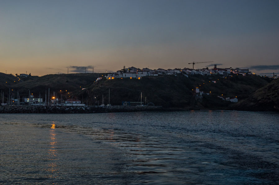 Vila do Porto desde el ferry