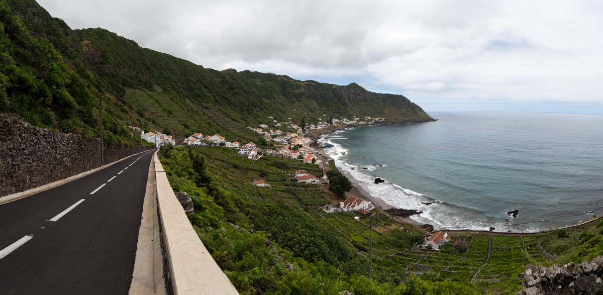 Santa María en las Azores, quietud y caminos
