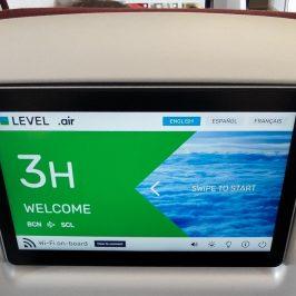 Bienvenido a bordo de Turista Premium de LEVEL