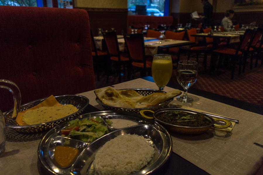 Comida Nepalí del Himalaya Restaurant en Helsinki