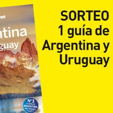 ¡CONCURSO POR CIERRE! ¡Llévate una Lonely Planet de Argentina!
