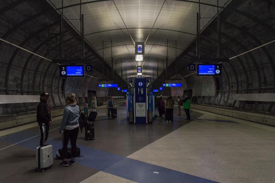 Estación de tren del aeropuerto de Helsinki