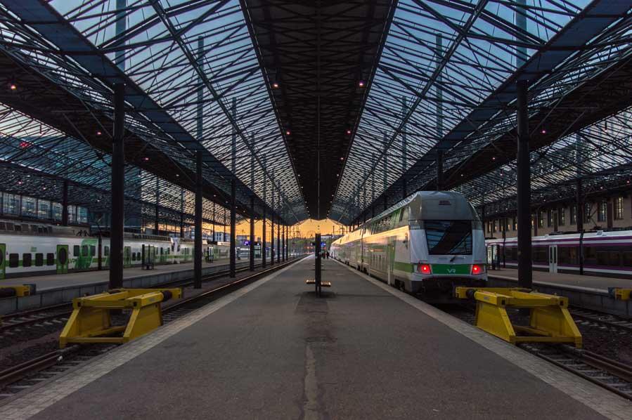 Estación Central de trenes de Helsinki