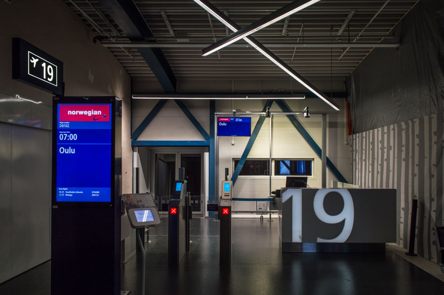 Gate 19, aeropuerto de Helsinki
