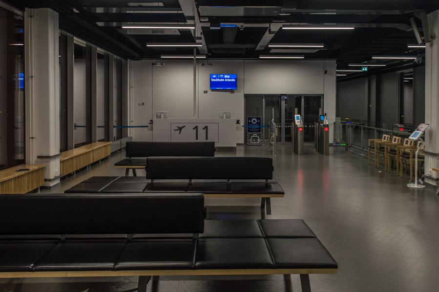 Zonas de espera del aeropuerto de Helsinki