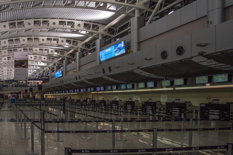 Aeropuerto de San José en Costa Rica