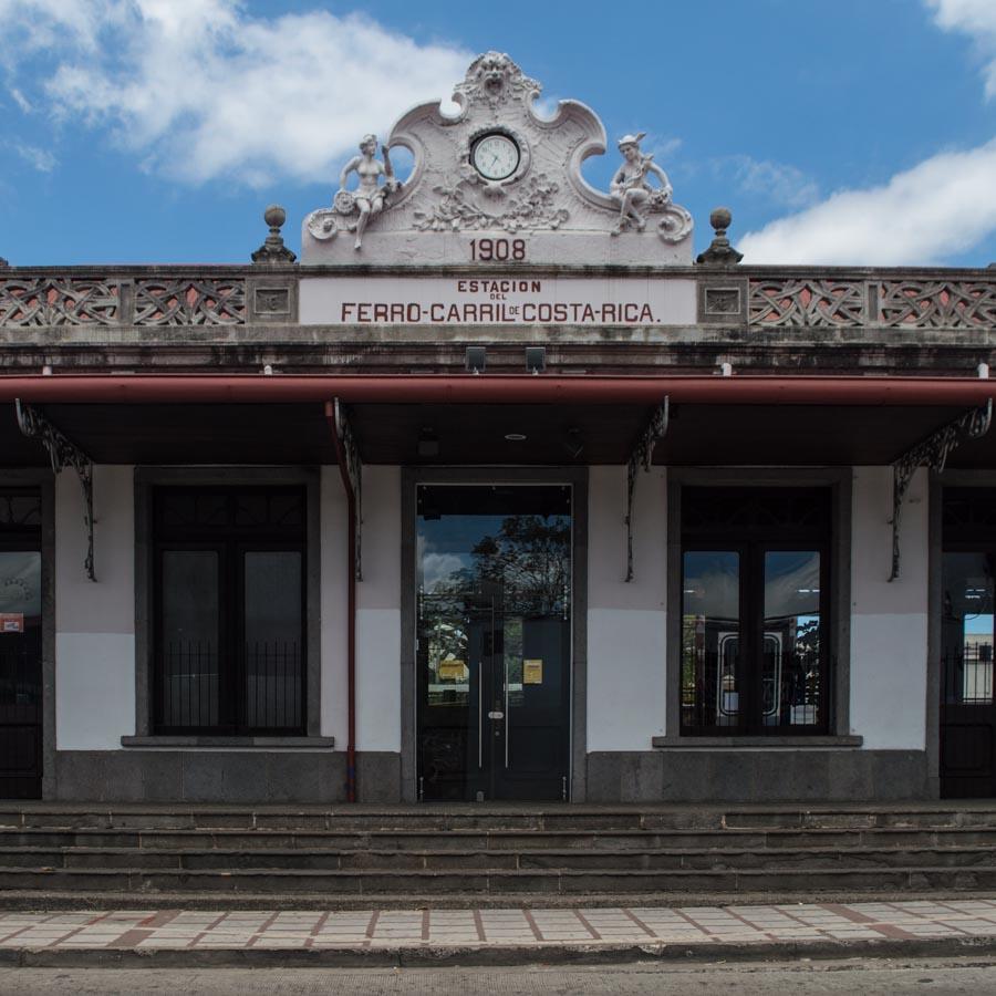 Estación del Atlántico, la parada de ferrocarril en San José