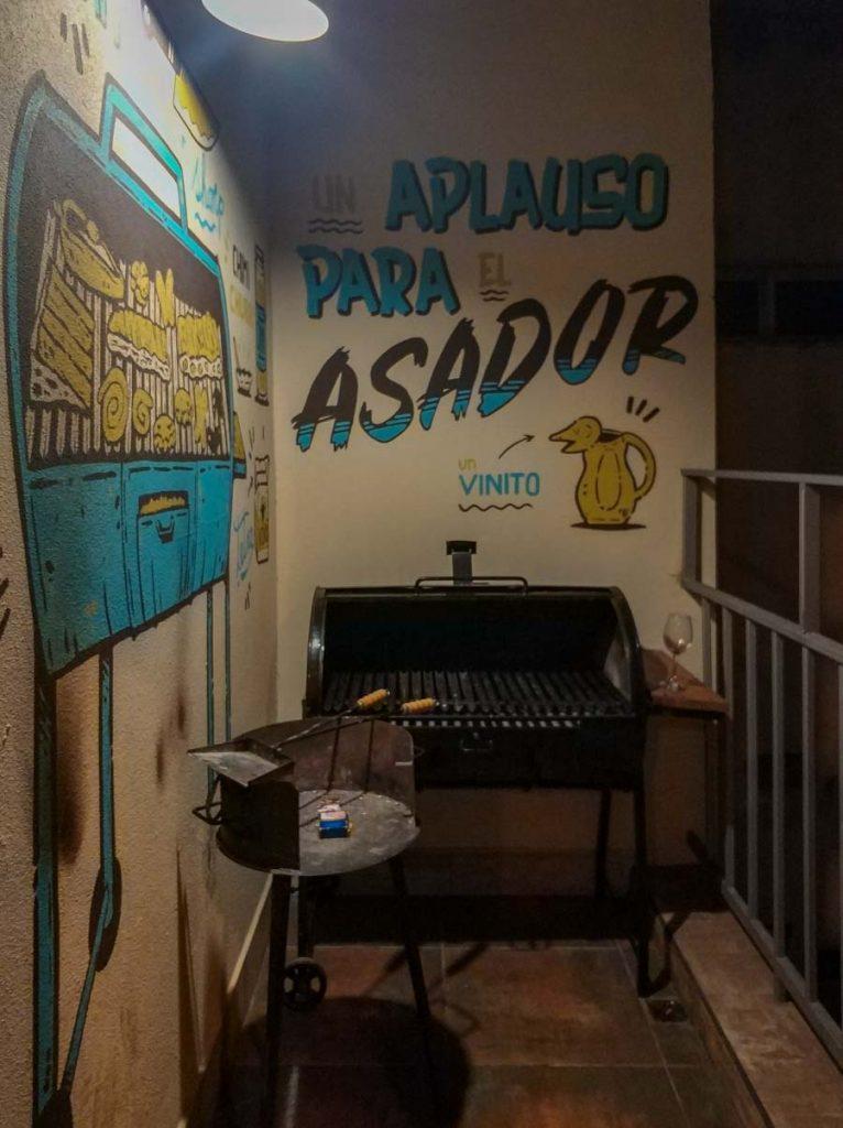 Zona Asador Che Juan Hostel Buenos Aires