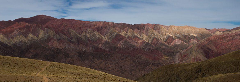 Cerro de los 14 colores en Argentina