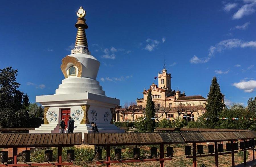 Estupa de la Salud del Monasterio Budista del Garraf