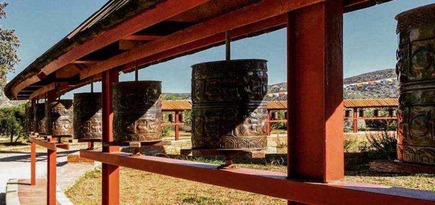 Mantras o Ruedas de Oración budistas